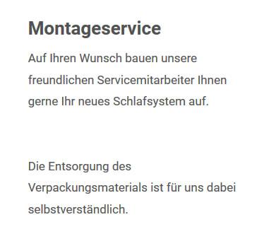 Betten Montageservice aus 76356 Weingarten (Baden)