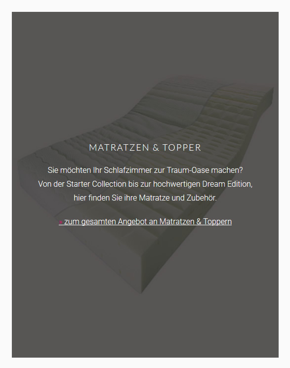 Matratzen-Topper